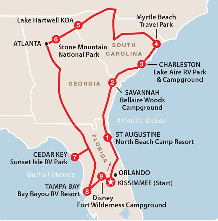 Florida y mucho mas
