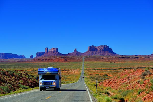 En el Parque Nacional de Monument Valley