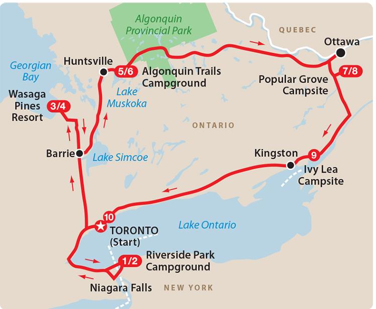 Ontario Circle Tour