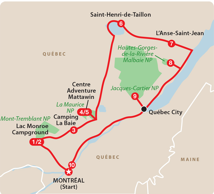 Classic Québec Tour